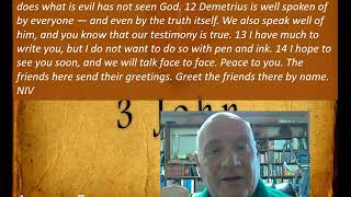 Lesson 5 3 John 11-14 June 10, 2020