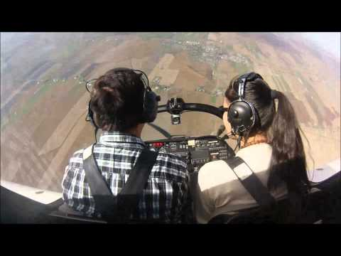 Aero Tigre - Aerobatic Manoeuvres: Barrel roll + Cuban Eight + Stall turn + Split S