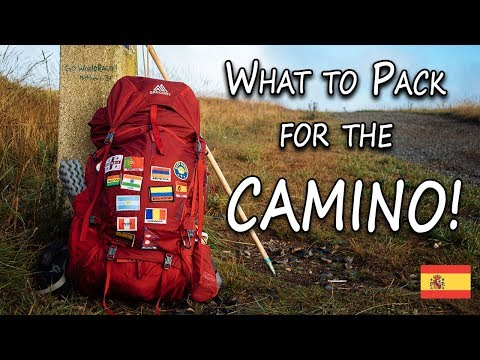 What To Pack For The Camino!