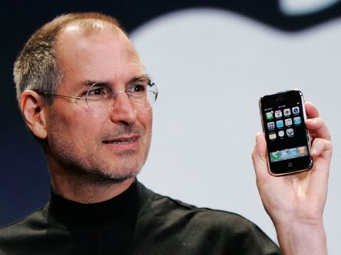 Steve Jobs announces the first iPhone in 2007 [HD, Full length]