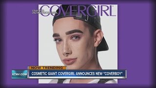James Charles named CoverGirl's first male brand ambassador