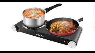 TOP 5: Electric Double Burner …