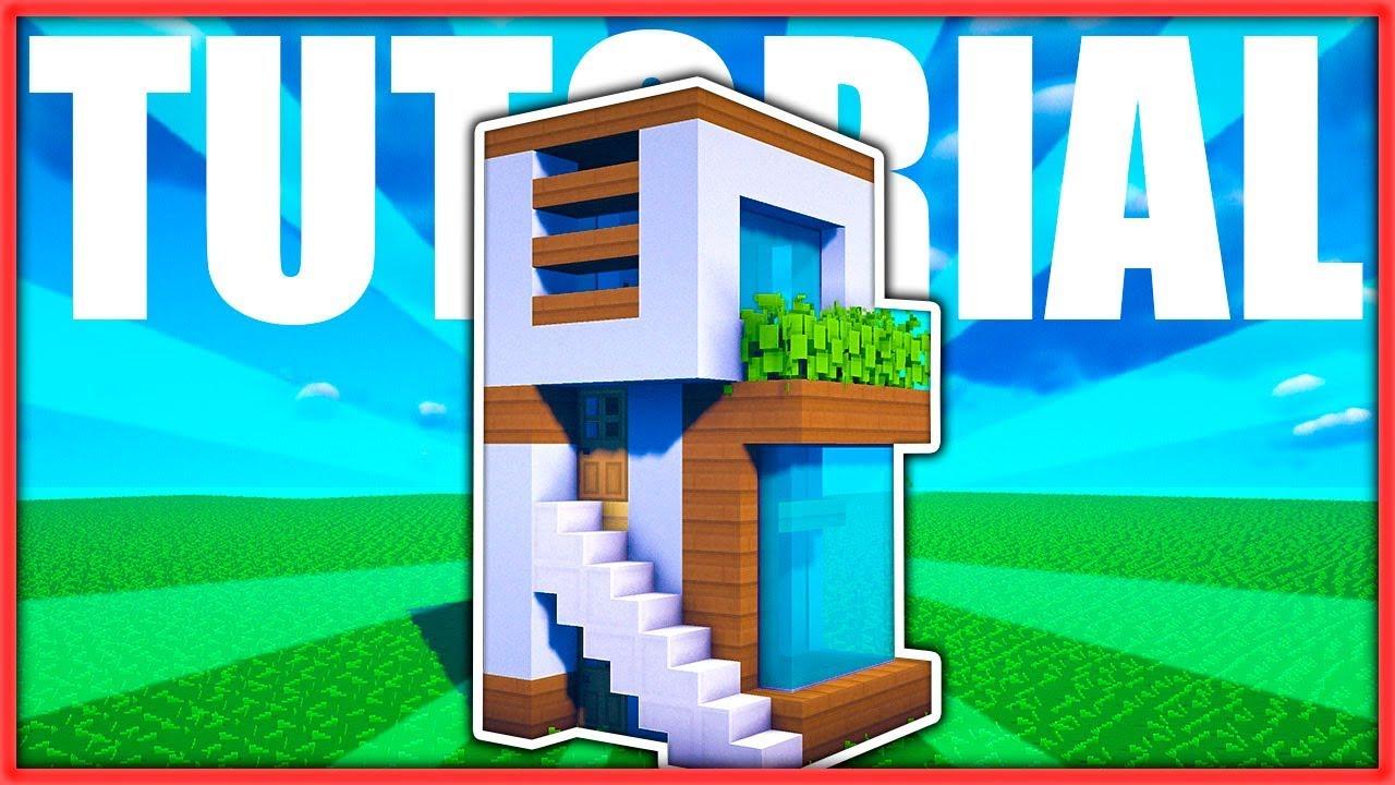 c mo hacer una mini casa moderna 5x5 f cil en minecraft
