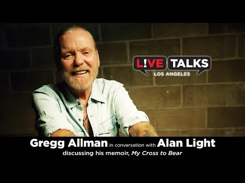 Gregg Allman in conversation with Alan Light at Live Talks Los Angeles