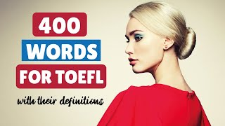 400 words for TOEFL with their definitions in English    Learn Intermediate English online screenshot 5