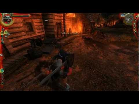 49. Let's Play The Witcher: Enhanced Edition [BLIND] - Flames Of Old Vizima
