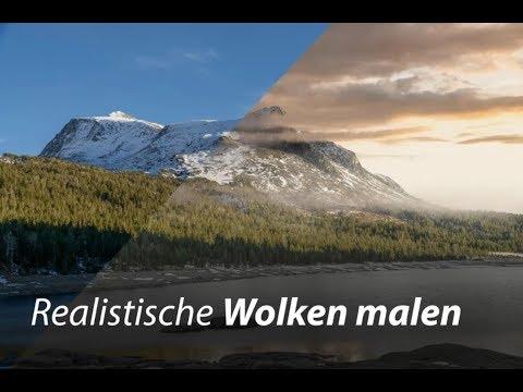 Realistische Wolken malen | Photoshop Tutorial thumbnail