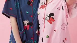 여름잠옷, 디즈니 미키마우스정품 헬로키티 정품