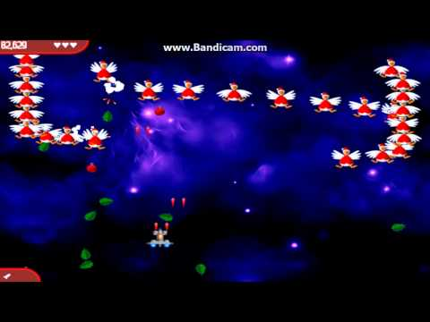 Chicken Invaders 1, 2, 3, 4, 5 [100% walkthrough]