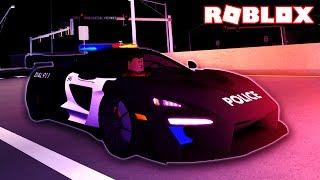 MY BIGGEST ARREST *EVER!* [McLaren Senna Police] (Roblox)
