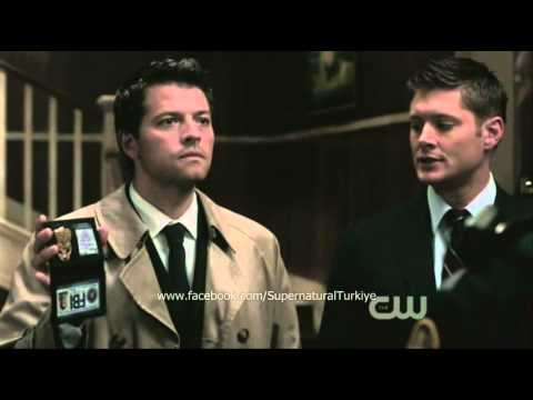 Supernatural - Castiel FBI/Kimlik Sahnesi - YouTube