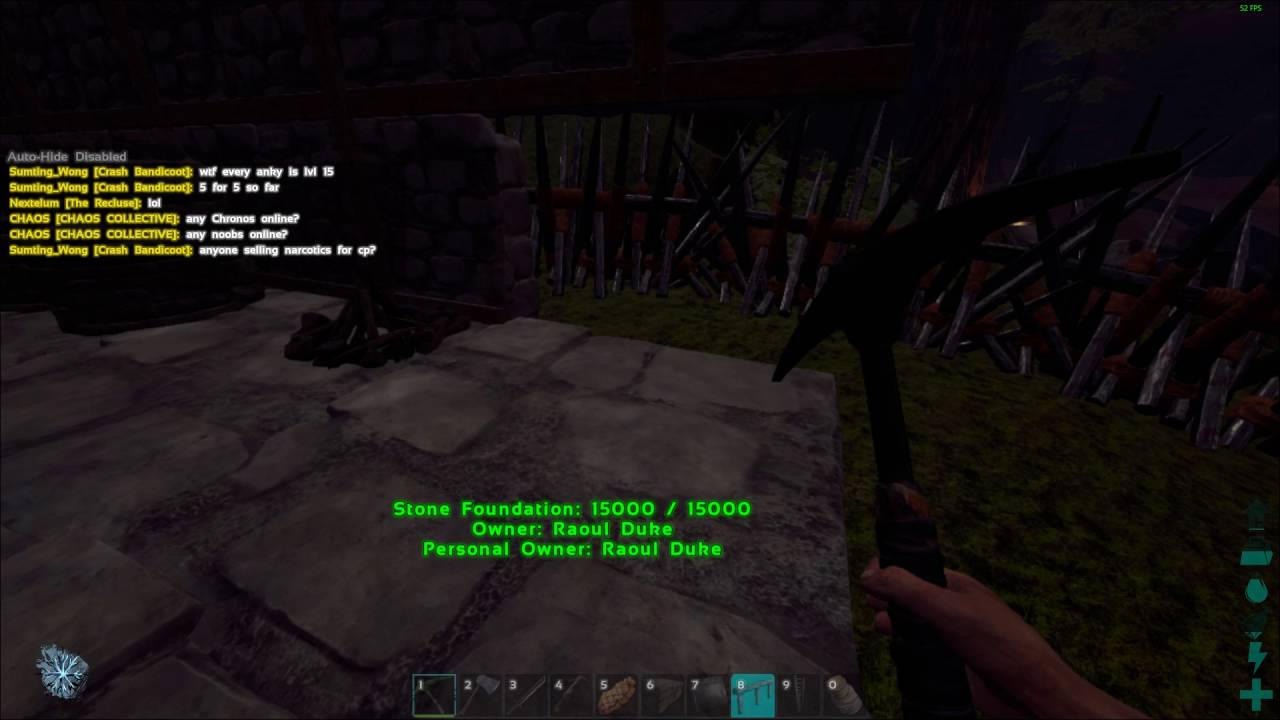 Can T Snap Stone Fence Foundation Ark Survival Evolved Youtube