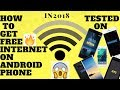 How to get UNLIMITED Internet on Samsung,Motorola,HTC,Nokia,Lenovo, Pixel, xaiomi,asus