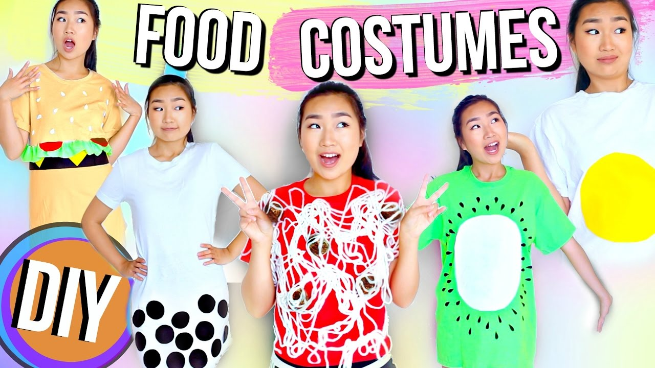 Diy unique last minute food halloween costumes jenerationdiy youtube solutioingenieria Image collections