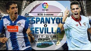 Espanyol vs Sevilla 29-01-2017 PRIMER TIEMPO