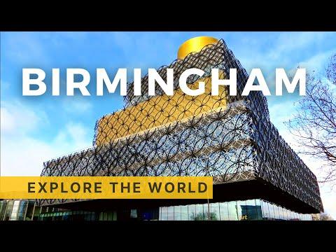 Walking in Birmingham, UK
