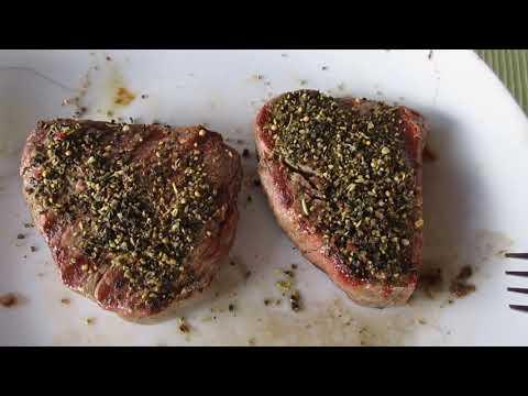 Steffen Henssler Rump Steak und Rinderfilet