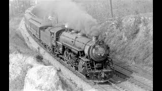 Southern Railway The Tennessean Streamlined Passenger Train