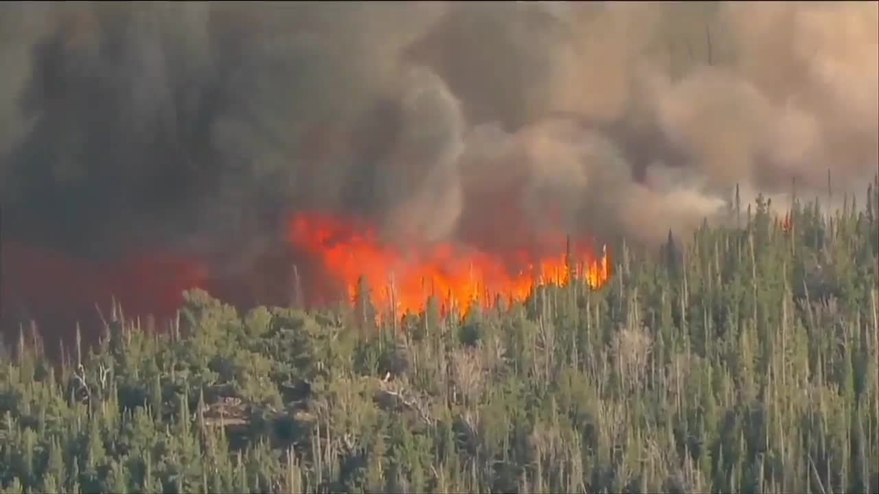 Cameron Peak Fire Burns 20000 Acres In A Day, Now Is Largest ...