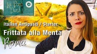 Frittata Alla Menta Recipe | Italian Appetizer / Antipasti Series