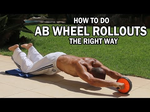 How to do ab wheel rollouts the right way