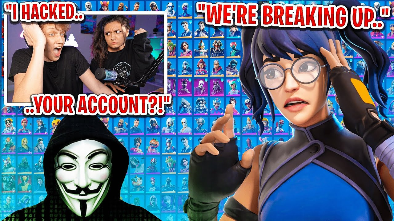 I HACKED my girlfriend's Fortnite account... (she confronted me)