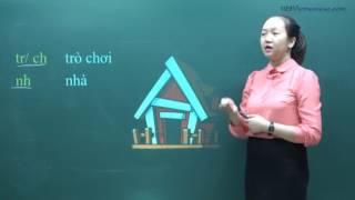 Dạy tiếng Việt cho người Nhật - Bài 1: Phụ âm