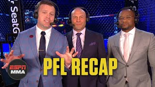 PFL Playoffs Recap: Lance Palmer, Natan Schulte advance to 2019 finals | ESPN MMA