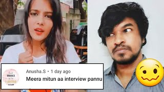 Meera Mithun Interview?! En…. Why?! | Tamil | Madan Gowri | MG
