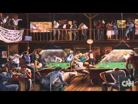 The Art Of Ernie Barnes From Cnn Youtube