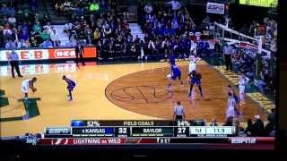 Wiggins Half Court Shot vs Baylor 02.04.14