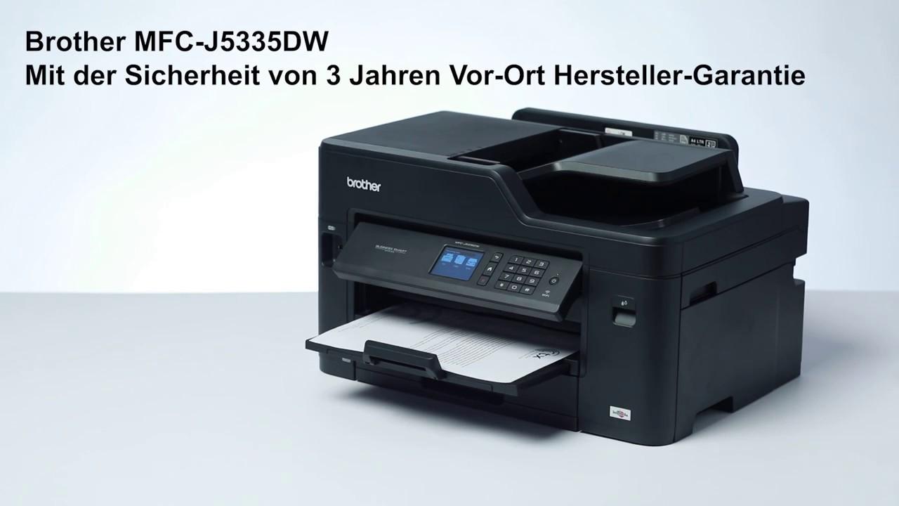 Brother All in One Drucker MFC-J8DW mit WLAN und Duplexdruck   Produktvideo
