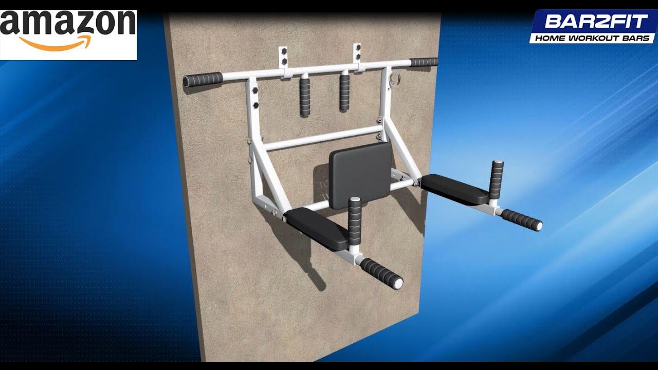 Instruccion de montaje barra dominadas bar2fit youtube - Barras de ejercicio para casa ...