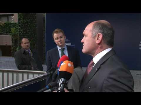 BM Sobotka vor dem Treffen der EU-Innenminister zu Relocation