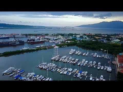 Subic Bay Aerial Shot 4k 08-06-2017