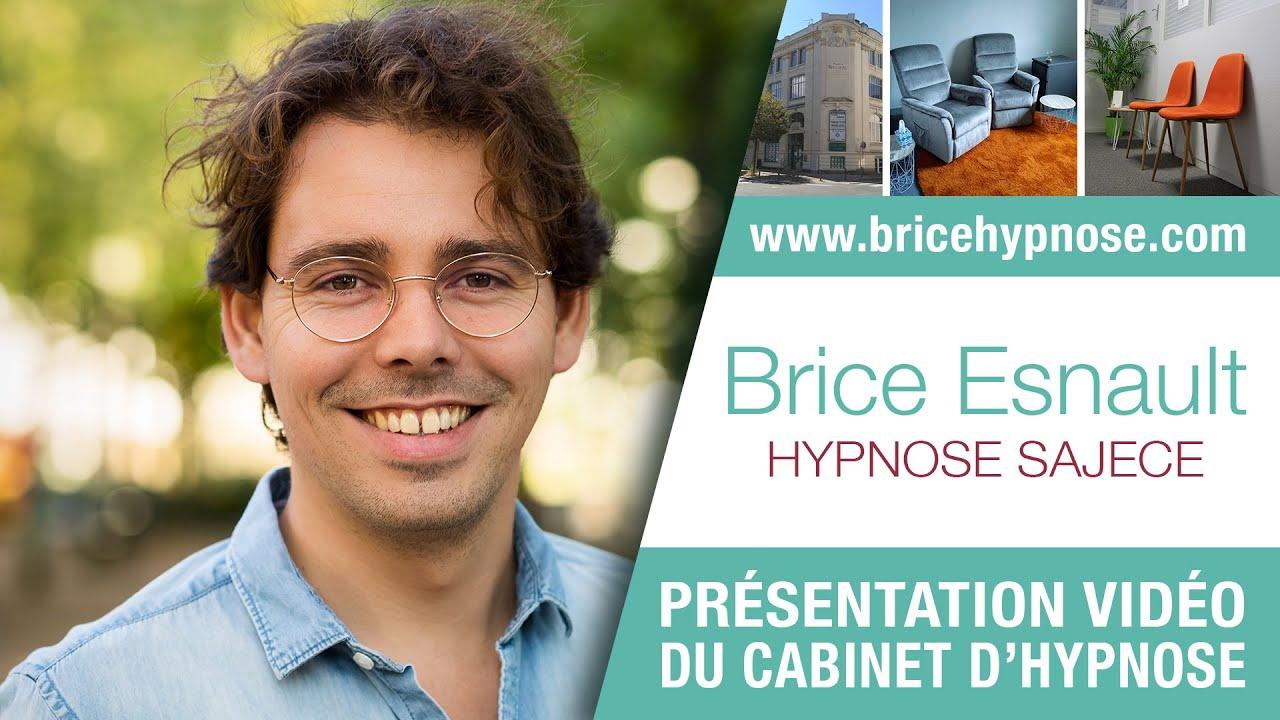 Présentation du cabinet d'HYPNOSE à ANGERS - Brice Esnault