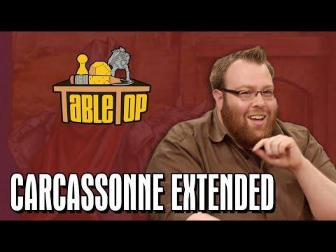 TableTop Extended: Carcassonne (Jesse Cox, Wil Wheaton, Nika Harper, Kumail Nanjiani)
