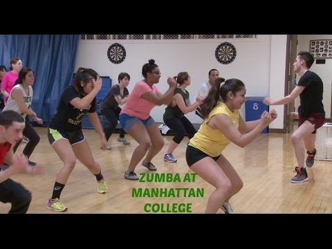 Zumba Class at Manhattan College