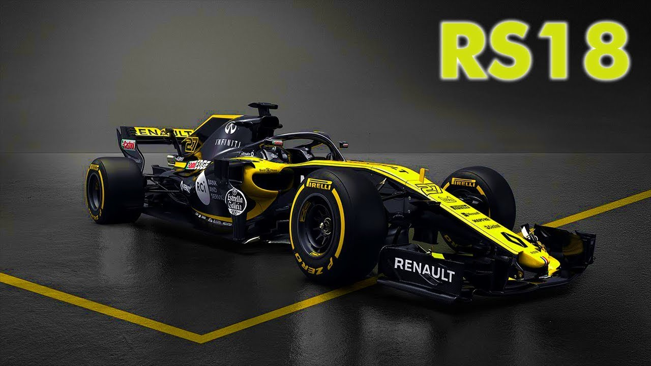 nuevo renault f1 2018 youtube. Black Bedroom Furniture Sets. Home Design Ideas