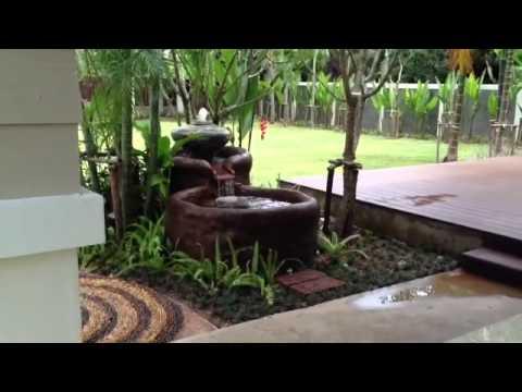 น้ำพุในสวน แบบตกแต่งห้องนอนขนาดเล็ก Doovi