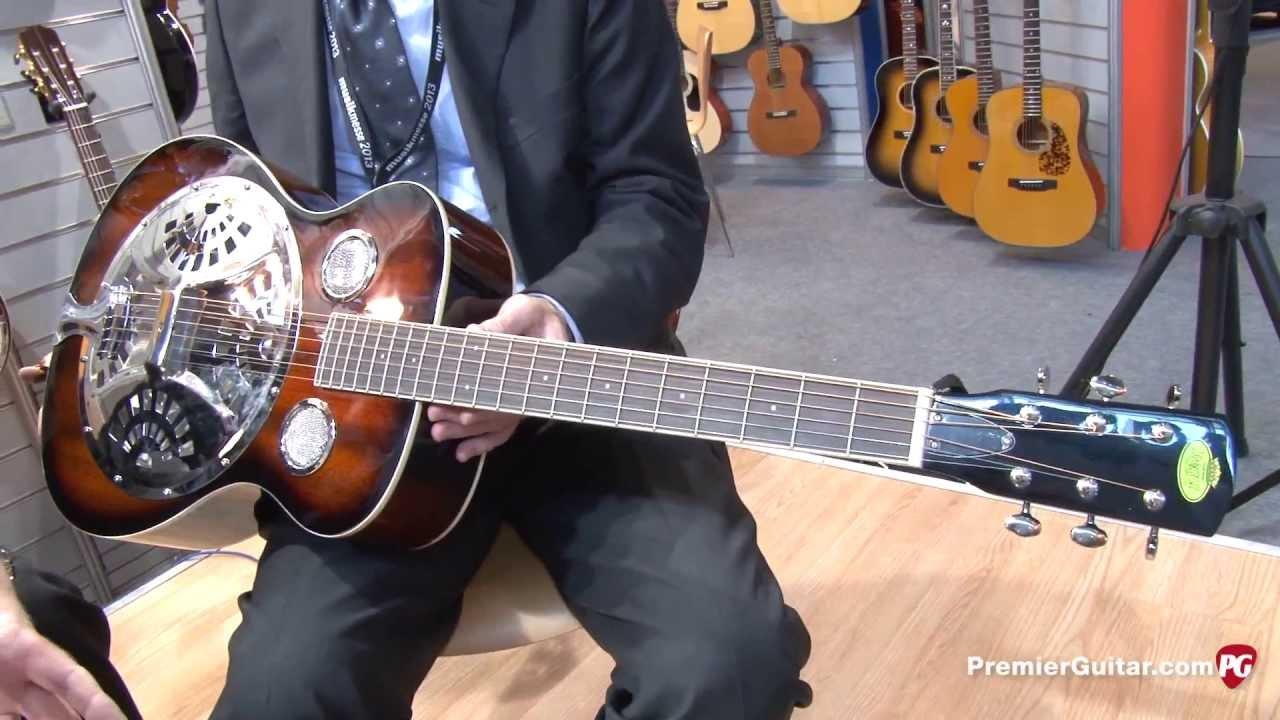 Musikmesse '13 - Regal RD-30V Resonator Guitar