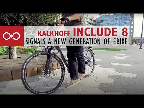 Kalkhoff INCLUDE XXL I8 I8R 17AH 36V Impulse Evo Shimano Nexus 8 Gang