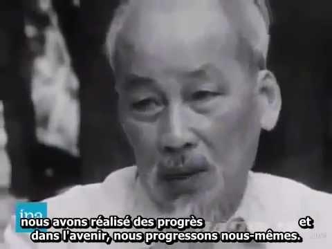 Interview de Ho Chi Minh (6/1964) avec sous-titres français