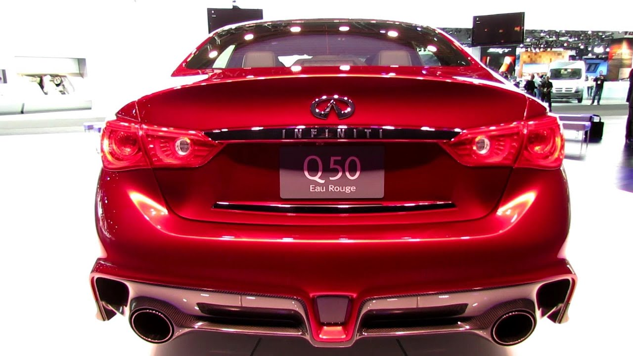 2017 Infiniti Q50 Eau Rouge Exterior And Interior Walkaround Debut At Detroit Auto Show You