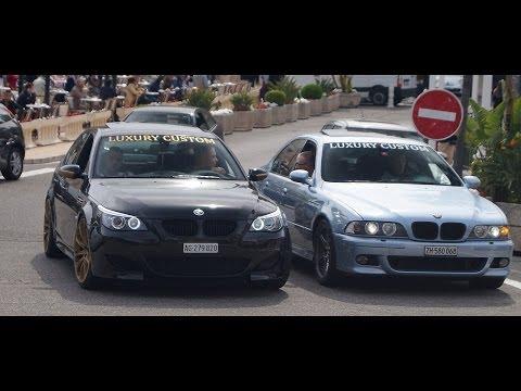 BMW M5 'Luxury Custom' Epic sound in Monaco!