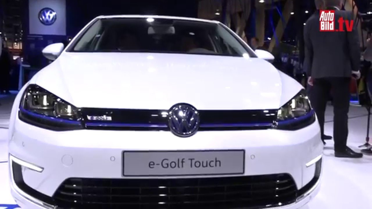 vw touch e golf cockpit ces 2016 golf 7 facelift youtube. Black Bedroom Furniture Sets. Home Design Ideas
