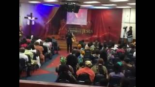 Min Sonnie Badu (Live at TBC) TWI WORSHIP