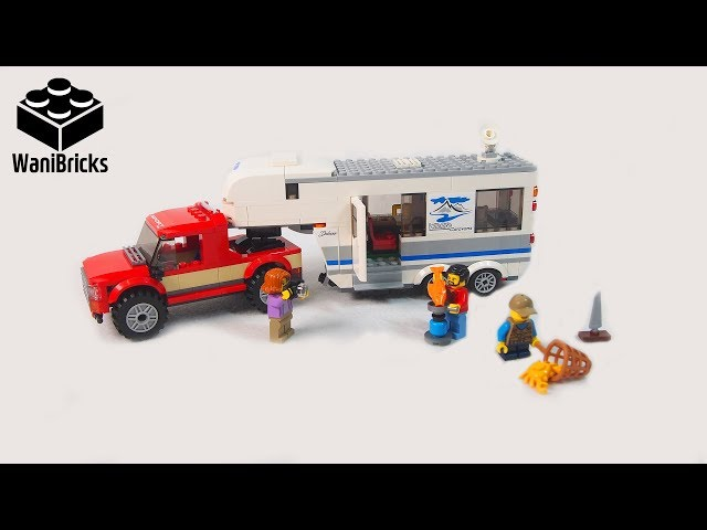 Lego City 60182 Pickup & Caravan - Lego Speed Build
