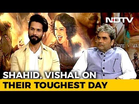 Shahid Kapoor On Rangoon's Difficult Shooting Days