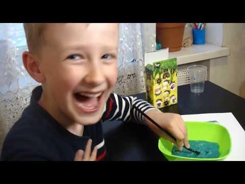 Crazy Slime #crazyslime  Делаем слайм из Набора для Опытов!